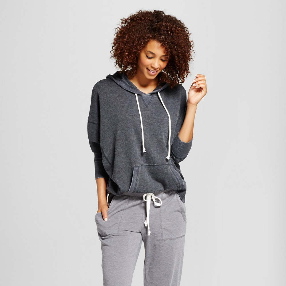 Womens Sleep Sweatshirt - Xhilaration Black L