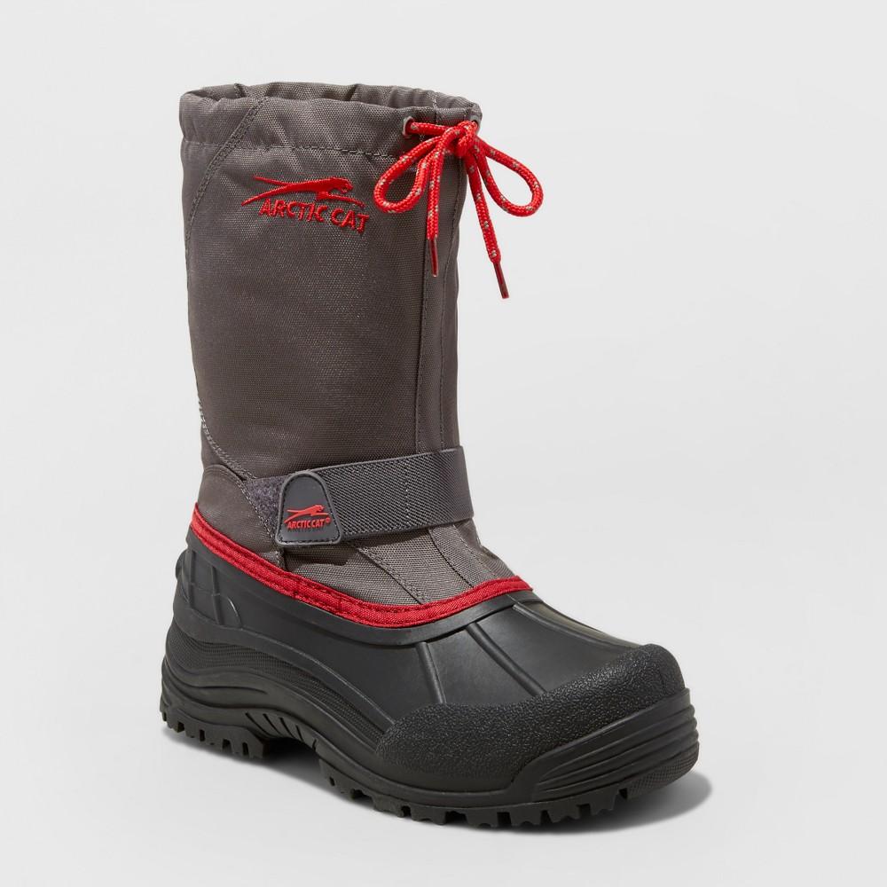 Boys Arctic Cat Snowshower Winter Boots - Gray 4