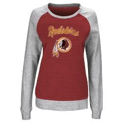 Washington Redskins Women's Raglan Pullover Sweatshirt