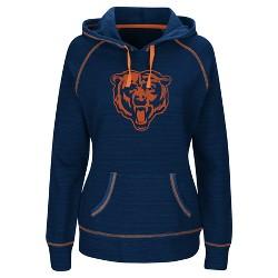 Chicago Bears Women's Distressed Team Logo Hoodie