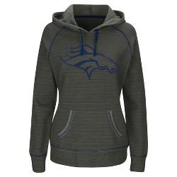 Denver Broncos Women's Distressed Team Logo Hoodie