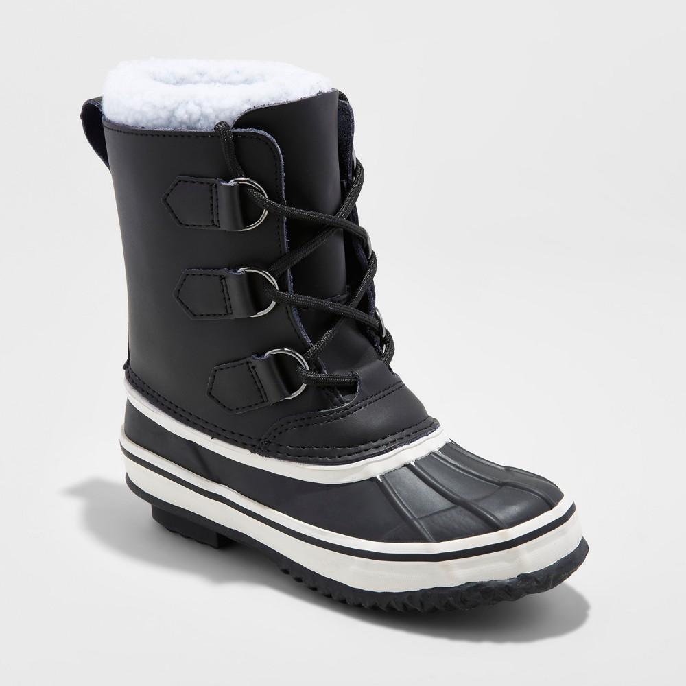 Boys Winston Winter Boots - Cat & Jack Black 3