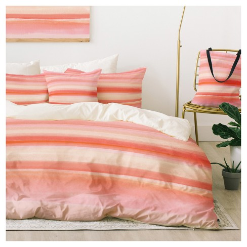 Pink Zoe Wodarz Desert Morning Duvet Cover Set - Deny Designs® - image 1 of 1