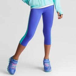 Girls' Novelty Mini Stripe Capri Leggings - C9 Champion®