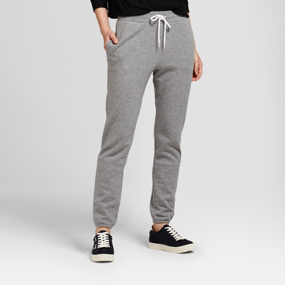 Womens Sweatpant with Banded Bottom - Mossimo Supply Co. Gray S