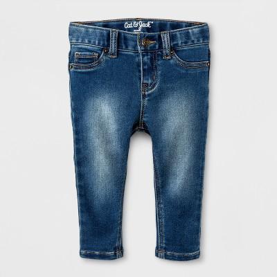 Toddler Girls' Skinny Jeans - Cat & Jack™ Medium Blue 2T