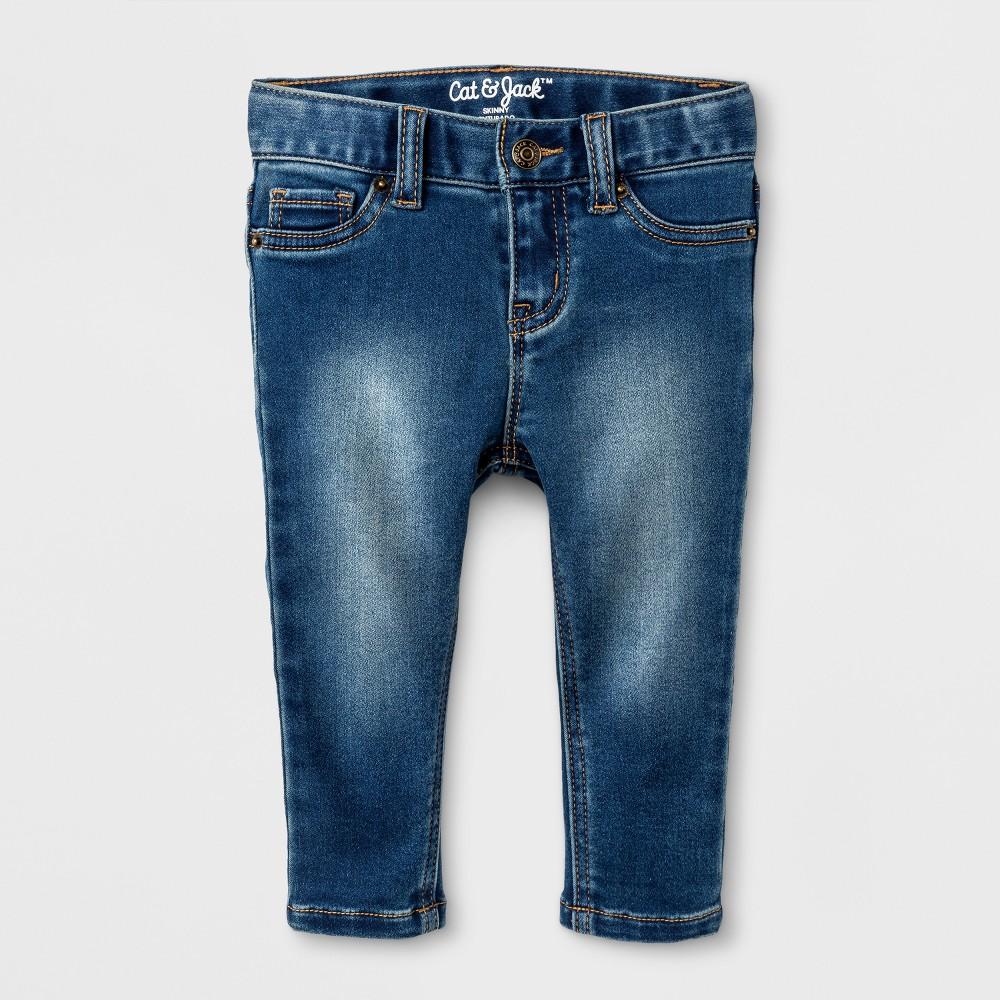 Toddler Girls Skinny Jeans - Cat & Jack Medium Blue 2T