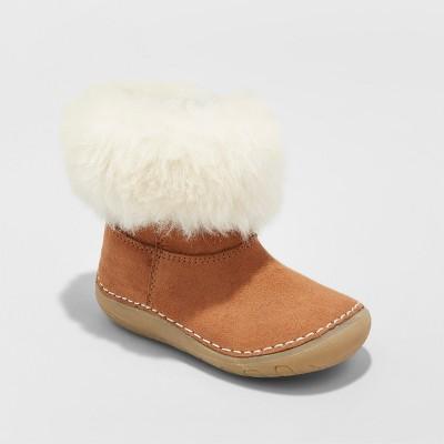 Girls' Genuine Kids® Trella Cozy Boots - Brown 3
