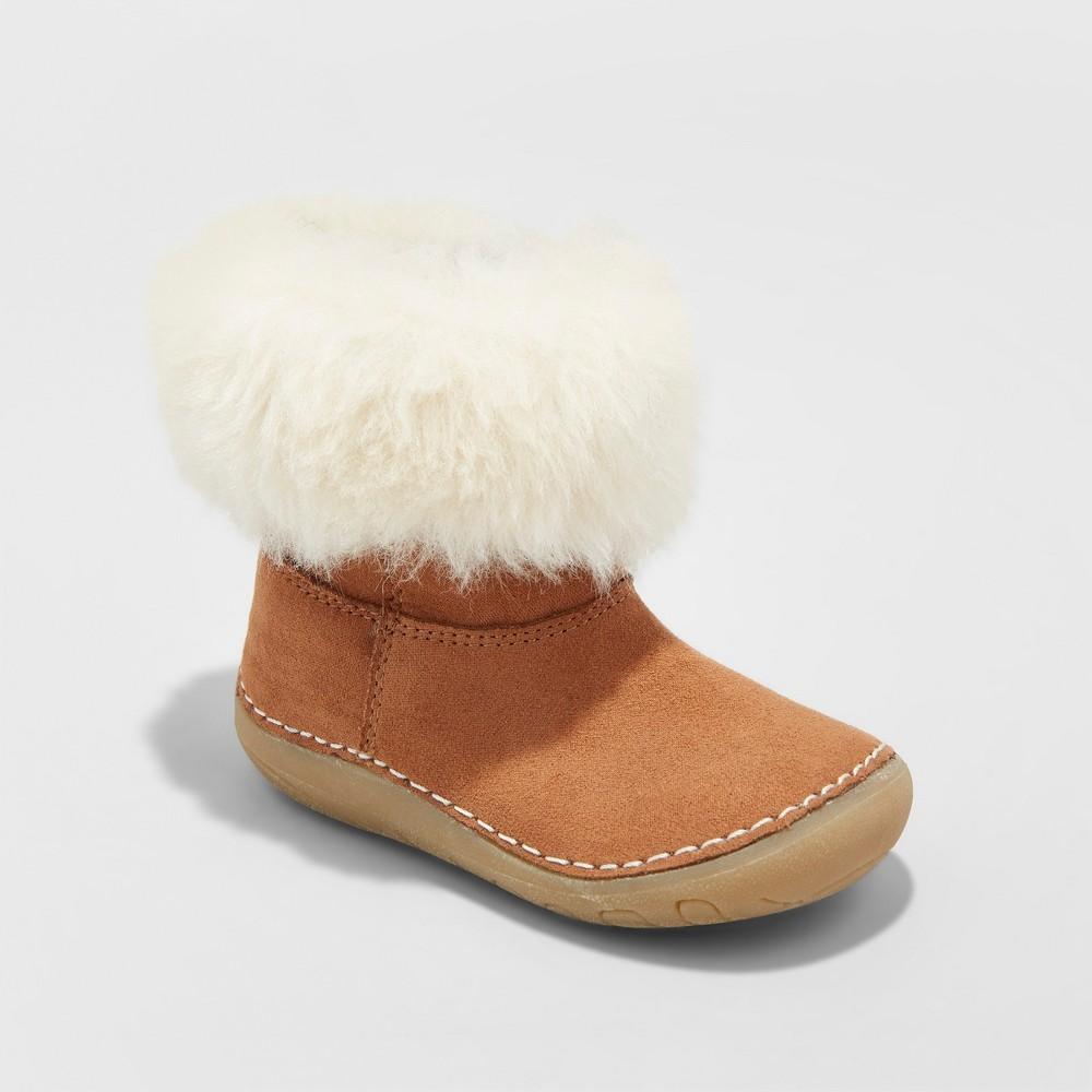 Girls Genuine Kids Trella Cozy Boots - Brown 4