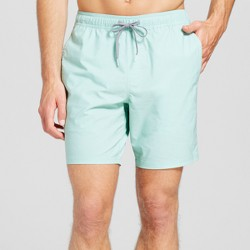 Men's Stone Wash Swim Trunks - Trinity Collective