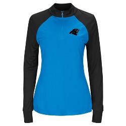 Carolina Panthers Women's Inspired Intensity Quarter Zip Pullover