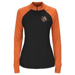 Cincinnati Bengals Women's Inspired Intensity Quarter Zip Pullover
