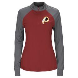 Washington Redskins Women's Inspired Intensity Quarter Zip Pullover