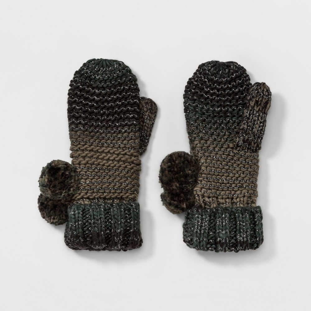 Womens Camo Mitten - Mossimo Supply Co. Olive (Green)