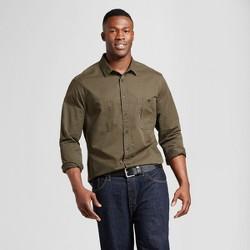 Men's Big & Tall Standard Fit Military Shirt - Goodfellow & Co™