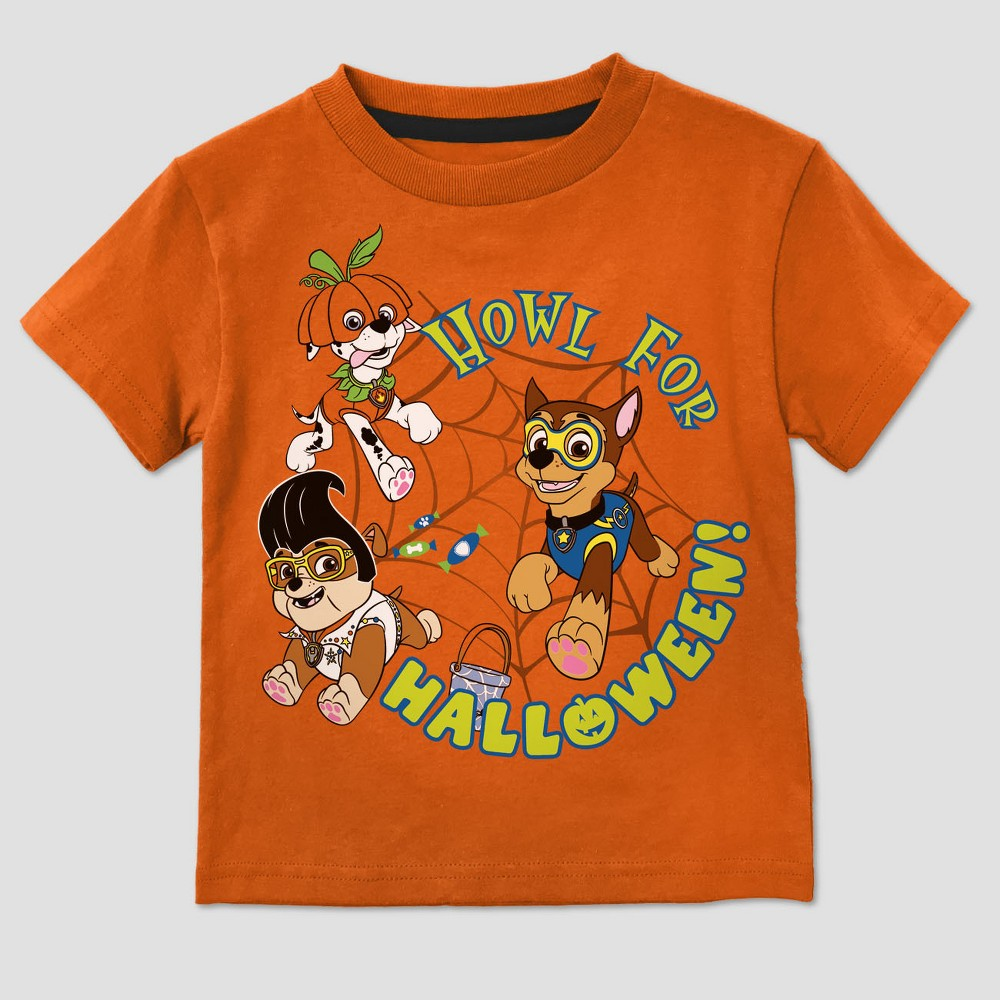 T-Shirt Paw Patrol Orange 4T, Toddler Boys