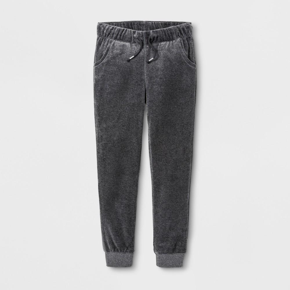Girls Fleece Jogger Pants - Cat & Jack Gray L