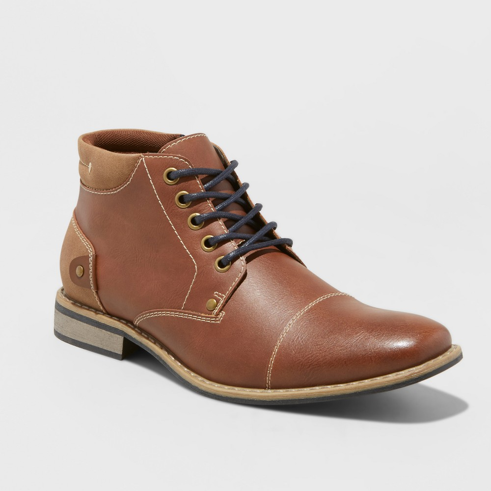 Fashion Boots SoHo Cobbler Soho 3 Tan 13, Mens, Beige