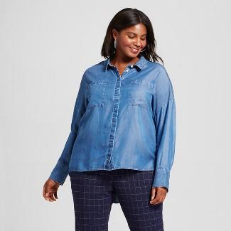 denim shirts for women : Target