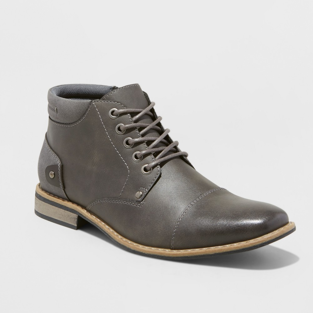 Fashion Boots SoHo Cobbler Soho 4 Gray 8, Mens