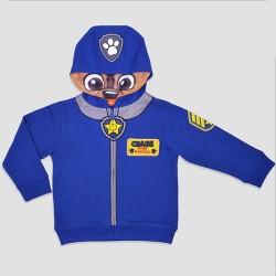 Toddler Boys' PAW Patrol Chase Costume Hoodie - Blue