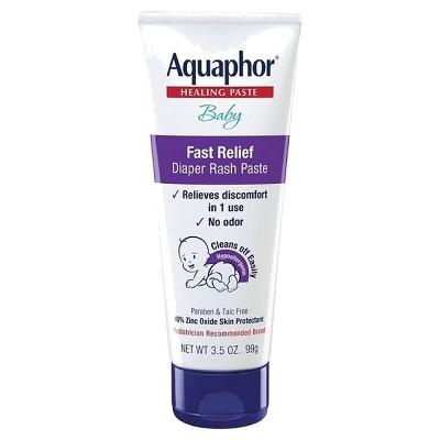 Aquaphor Baby Diaper Rash Paste - 3.5oz