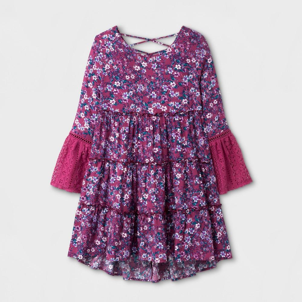 Girls A-Line Dress - Art Class Rose M, Pink