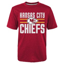 Kansas City Chiefs Boys' Textured Gel Print Heathered T-Shirt