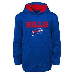Buffalo Bills Boys' Heathered Pullover Hoodie Sweatshirt