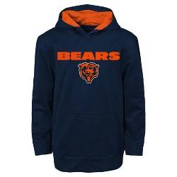 Chicago Bears Boys' Heathered Pullover Hoodie Sweatshirt