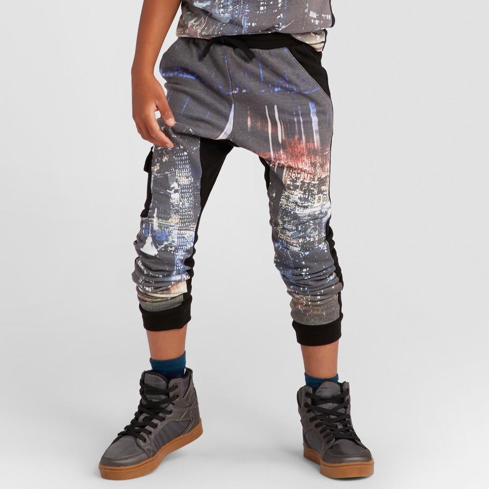 Boys Photoreal Knit Jogger Pants - Art Class Black XS