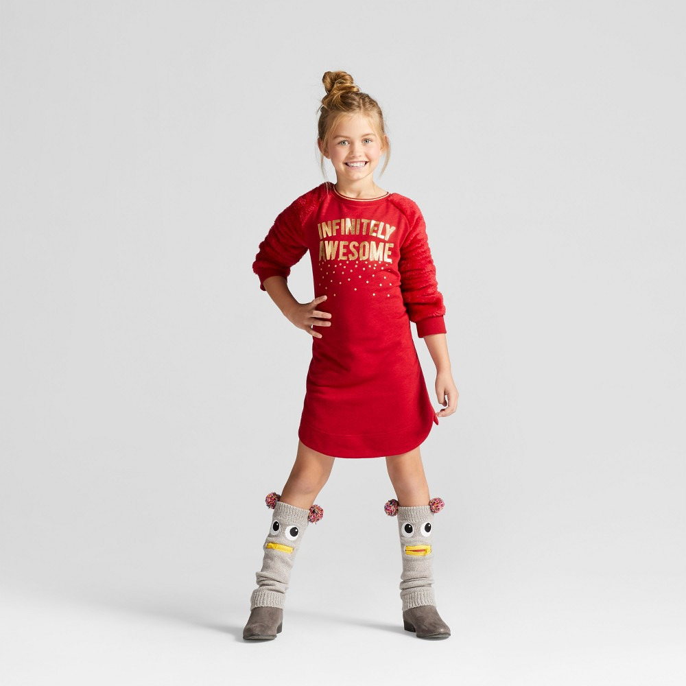Girls Dress - Cat & Jack Red M (7-8)