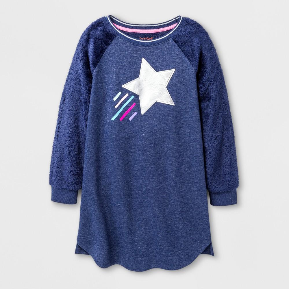 Girls Dress - Cat & Jack Blue S (6-6X)