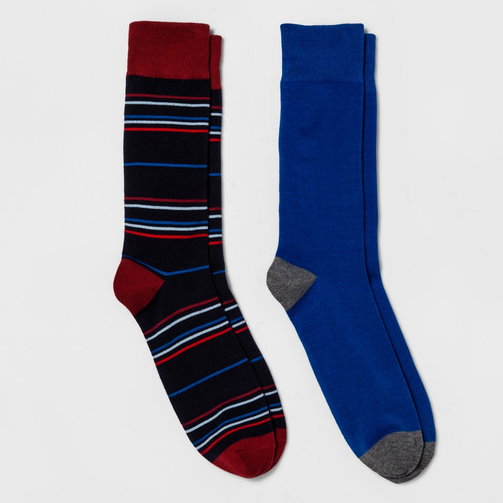 Mens Dress Socks - Goodfellow & Co Navy (Blue) 10-13