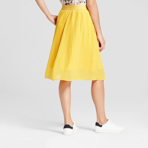 s pleated midi skirt a new day target