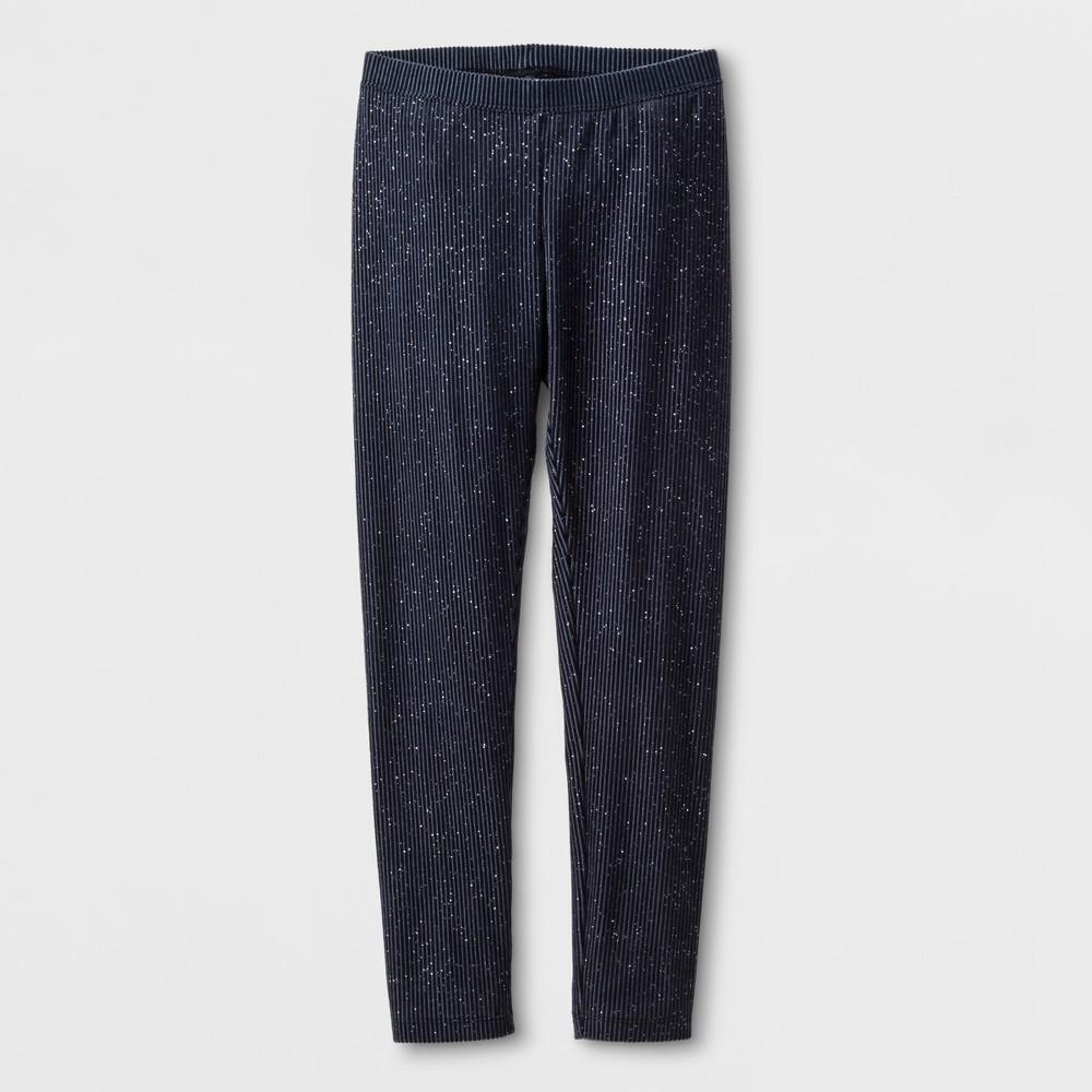 Plus Size Girls Sparkle Core Plus Leggings - Cat & Jack Gray S, Blue