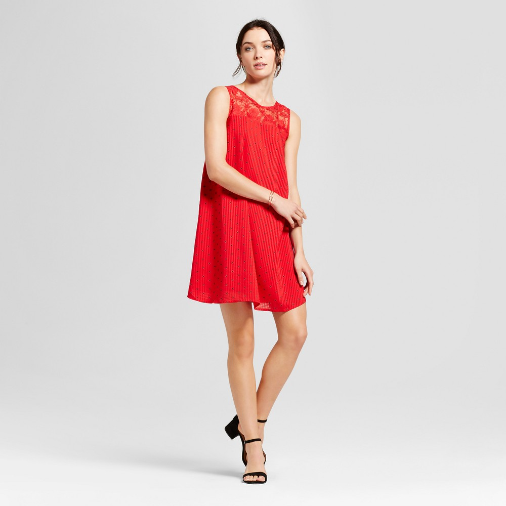 Womens Shift Dress - A New Day Red L
