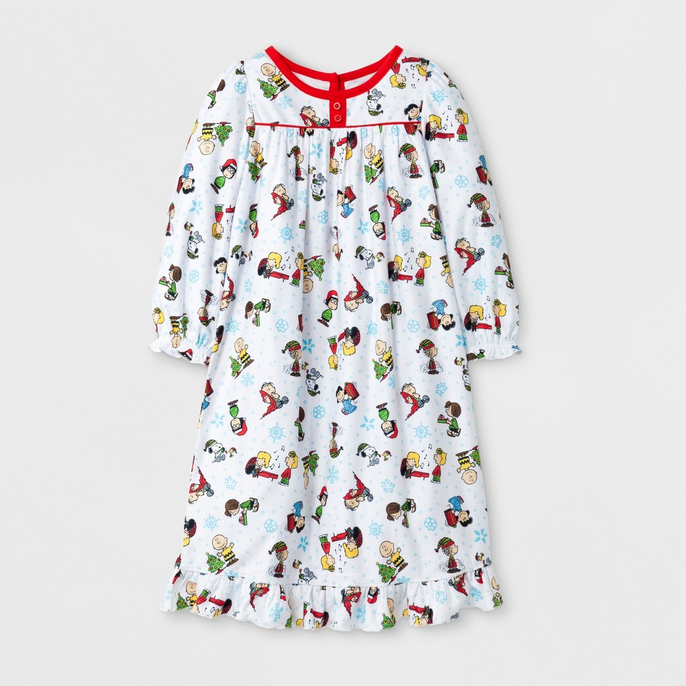 Nightgowns Peanuts Peanuts 3T White, Toddler Girls