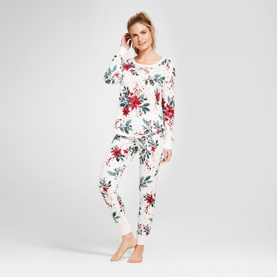 Women's 2pc Pajama Set - Gilligan & O'Malley™ Almond Cream M