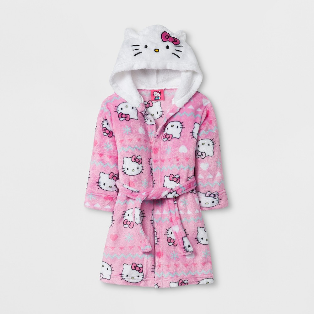 Robes Hello Kitty Pink 2T, Toddler Girls