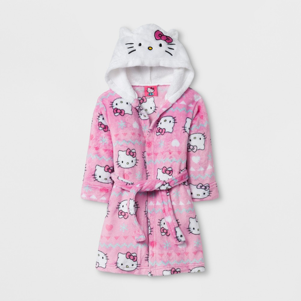 Robes Hello Kitty Pink 3T, Toddler Girls