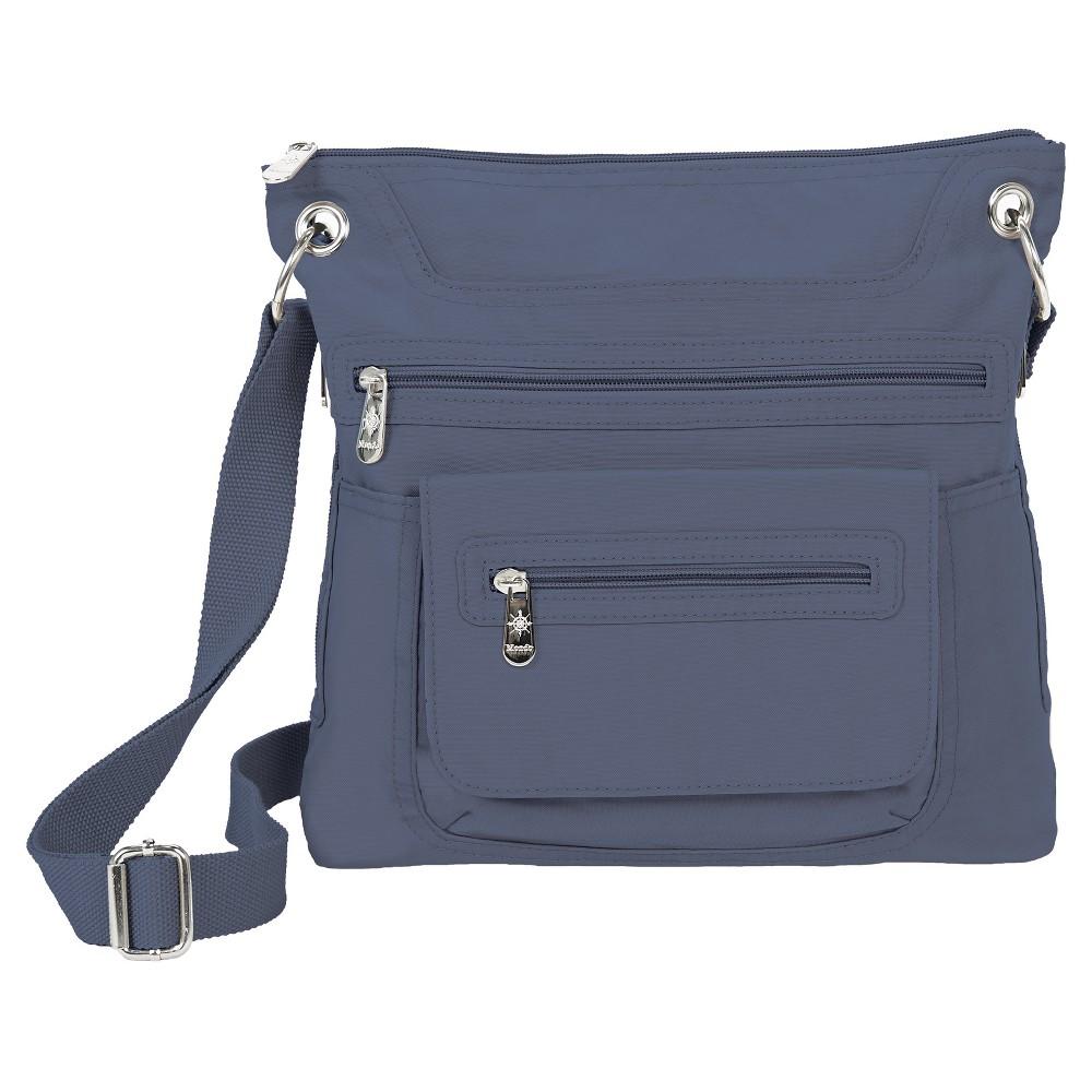 Mondo Womens Crossbody Handbag - Chambray, Size: Large