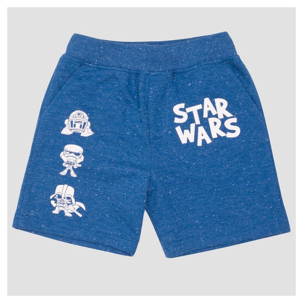 Jogger Shorts Star Wars Star Wars Bright Navy 3T, Toddler Boys, Blue