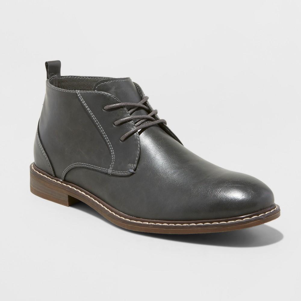 Chukka Boots SoHo Cobbler Soho 6 Gray 8.5, Mens