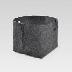 Felt Basket Square Large Charcoal - Project 62™
