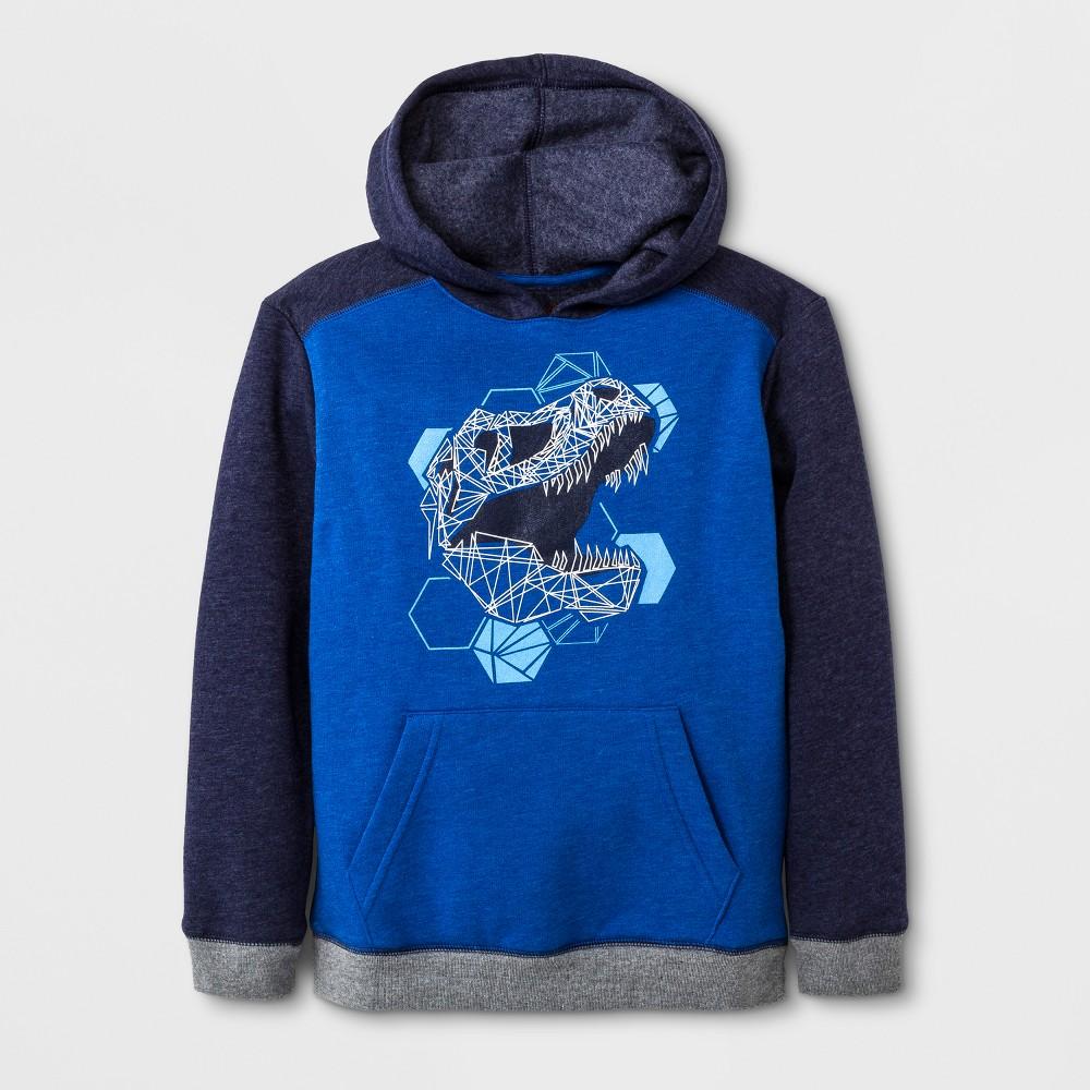 Boys Fleece Pullover Sweatshirt - Cat & Jack Navy Blue L