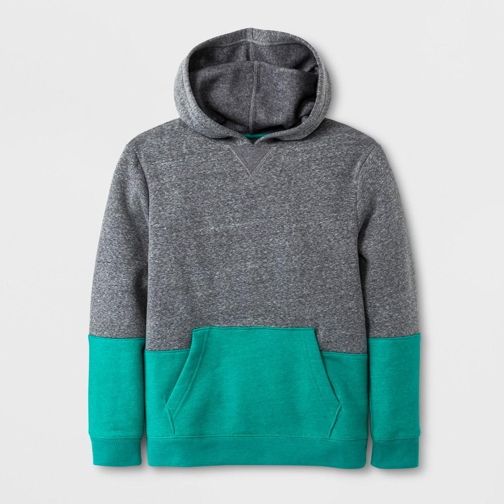Boys Fleece Pullover Sweatshirt - Cat & Jack Gray S