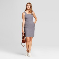 Women's Bi-Stretch Twill Sheath Dress - A New Day™