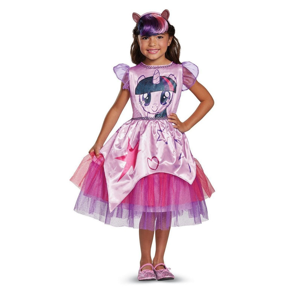 Girls My Little Pony: Twilight Sparkle Classic Toddler Costume 3T-4T, Multi-Colored