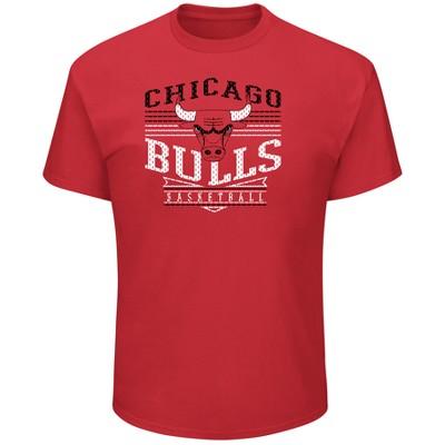 Chicago Bulls Men's Short Sleeve Heathered T-Shirt - XL